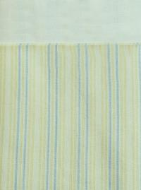 Yellow & Blue Stripe Twin Comforter Set