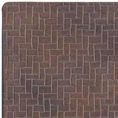 Latex Herringbone Brick Sheet