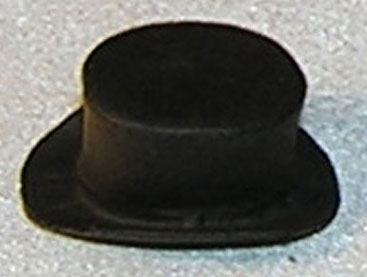 Top Hat, Black - Click Image to Close