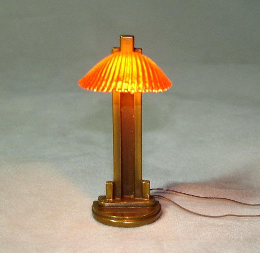 Bronze Clam Shell Lamp