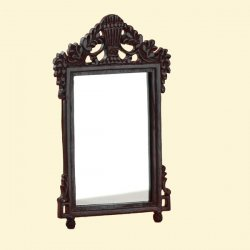 Mirror, Dark Mahogany