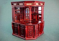 "1/2"" Bespaq Old English Pub Bar in Mahogany"