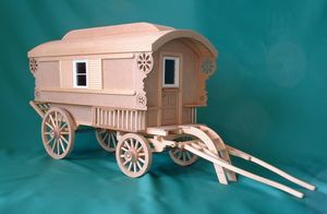 Gypsy Caravan Kit Mcq001 369 99 Miniature Designs