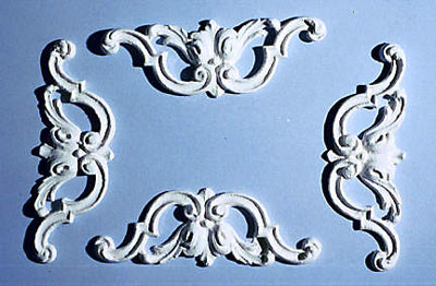 Ceiling Carving, 1/Set