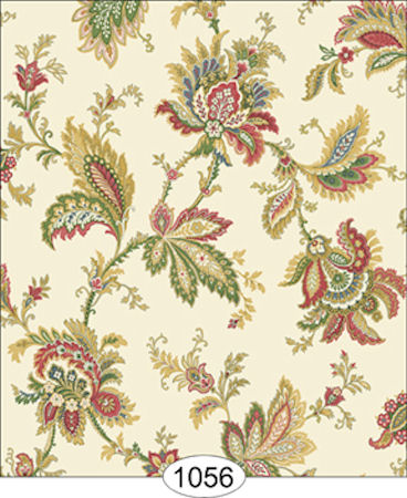 Jordan Multi Jacobean Wallpaper