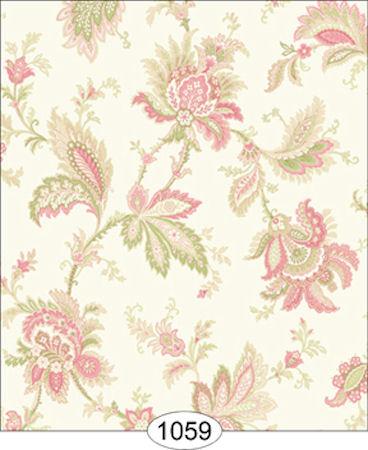 Jordan Pink Jacobean Wallpaper Click To Enlarge