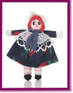 "Mini Ann, 1"" Doll - Click Image to Close"